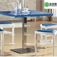咖啡厅实木餐椅 特色橡胶木椅子 休闲餐椅家具可定制 多多乐家具