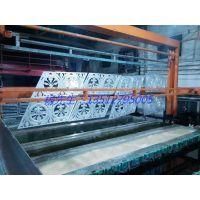 溢升铝板雕刻隔断 铝板雕刻护栏 不锈钢屏风 金属异形制品生产线