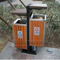福建福州莆田厦门钢木垃圾桶 不锈钢垃圾桶选维航