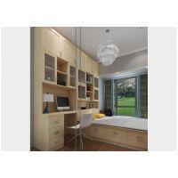 诗尼曼定制多功能书房家具-书房装修效果图-家居100