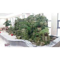 假山制作工程 假山施工 广州假山鱼池施工团队 房地产假山项目案例