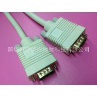 供应厂家直销:1.5米 HD15接口线 VGA电脑显示器连接线 单磁环