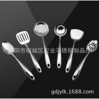 A91-厂家直销 不锈钢厨具6件套 礼品彩盒套装 厨房用品 铲勺套装