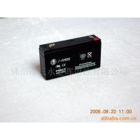 【价格公道】供应手提灯6V1.3AH蓄电池(图)   J-POWER铅酸蓄电池