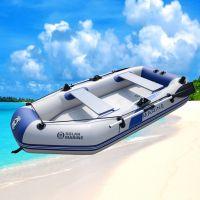 solar marine速澜B3230三人拉丝底充气船 夹网船 钓鱼船 橡皮艇