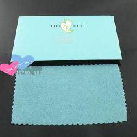 供应饰品擦银布 批发 厂家直销 用于饰品首饰银子布 绿色T家饰品