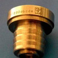 提供金属五金配件 激光镭雕 激光镭射加工 二维码 条形码