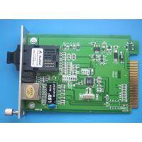 N-netNT-102F百兆多模卡式光纤收发器 济南报价