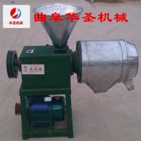 小麦专用锥形磨头打面机 家用电使用磨面机 轻便小型打面粉机