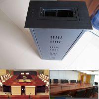 会议桌麦克风电动升降器 话筒桌面升降台
