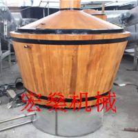 304不锈钢电加热大中小型作坊酒厂宏燊酿酒设备蒸酒器蒸馏器