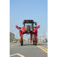 华玺高架玉米打药机四驱四转向农用机械车大型玉米喷药机厂家直销