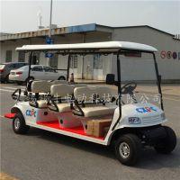 锡牛 泰安8座电动高尔夫球车,度假村接送观光车,四轮楼盘看房车