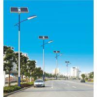 厂家低价供应内蒙古包头市太阳能道路警示灯太阳能的路灯6米21W太阳能路灯
