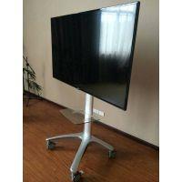 视频会议铝合金液晶电视移动支架32/48/55/60LED电视落地支架推车