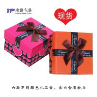 现货爱心蝴蝶结手表盒手镯手链礼盒精美高档礼品盒首饰包装纸盒