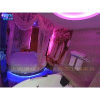 主题宾馆床-情趣发光圆床-电动红床-情侣水床-上海漫炫情趣家具厂家