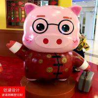 【铠涵工艺品】广州玻璃钢雕塑价格-卡通雕塑定制-商场美陈装饰雕塑