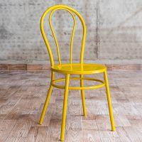 海德利热销定制 欧式金属铁艺餐椅 简洁时尚餐椅 批发