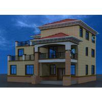 [新农村]4层徽派风格商品住宅房设计施工图