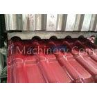 Plastic PVC + PMMA Two Layer Roof Tile Forming Machine Double Screw Extruder