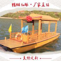 仿古 观光游船 景观装饰 影视木船 传统工艺木船 客船
