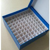 冻存盒 绿冻 全覆膜 防水纸质 81格 9*9
