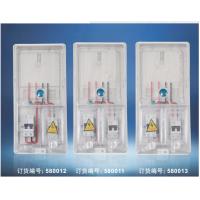 单户国网农网防窃电塑料箱透明电表箱挂壁控制箱插卡电表箱