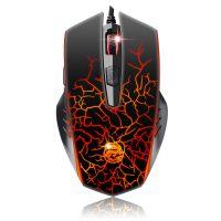 批发标王X700-M烈焰狂龙游戏竞技光电鼠标6色呼吸灯自定义编程版
