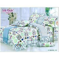 供应床上用品全棉被套/纯棉活性印被套批发