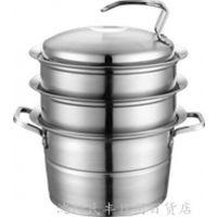 厨具多功能复底蒸锅 三层蒸锅不锈钢恒能锅具多层节能锅