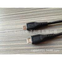 深圳创伟 供应手机MICRO5P数据线 A B 加长订做生产