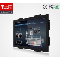 厂家供应可定制高质量22寸工业嵌入式显示器 电阻屏 质保三年