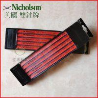 正品 美国NICHOLSON双锉牌高速钢手用锯条  双金属手用锯条