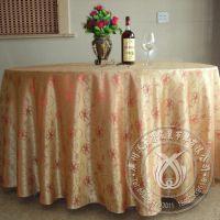 台布工厂批发 欧式高档提花餐桌布 酒店餐厅桌布 外贸原单 定做