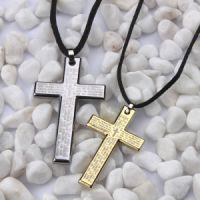 情侣饰品批发价格_要买***超值的真男人时尚十字架情侣项链优选厦