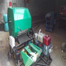鲜玉米秸秆打捆包膜机加工定做 全自动青贮包膜打捆一体机厂家