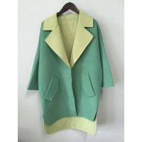 衣伽服装公司,高档双面呢大衣批发,纯手工缝制,高档精品女装批发13380111690