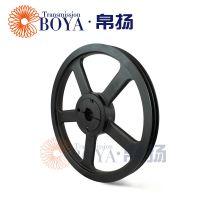 空压机皮带盘spa190-02采购选无锡帛扬锥套皮带轮厂家