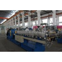 600rpm parallel corotatiing twin screw extruder trecycled abs plastic granulawtor
