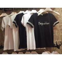 虎门厂家直销新版T恤市场纯棉T恤批发热销女装短袖货源服装店女装批发
