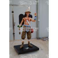 厂家供应海贼王雕塑、海贼王路飞雕塑、路飞雕塑、海盗雕塑、海贼王