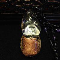 天然水晶 实价 天然毕肖灵葫芦佛像吊坠 招微信代理