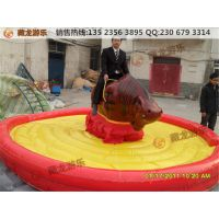 批发供应各种类型斗牛机 高质量疯狂斗牛机圆形方形气垫