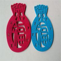福袋毛毡杯垫 可订做样式 规格 颜色