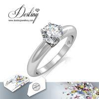 戴思妮 欧美戒指 采用施华洛世奇元素 优雅精致水晶戒指 女士饰品 厂家直销