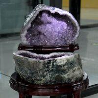 特价巴西天然紫水晶聚宝盆 招财聚财消磁摆件 37公斤