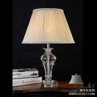 蒂孚尼欧式奢华水晶台灯 经典高端水晶台灯 纯水晶台灯定制