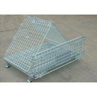 四川攀枝花加工定做各种规格移动方便的移动折叠型仓储笼(周转箱)