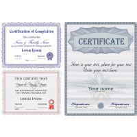 防伪证书设计 安全线荧光防伪 根据客户要求定制